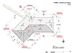 Schéma de toiture - PCMI