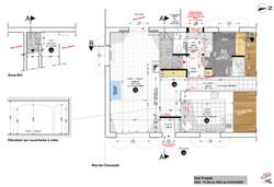 Plan ESQ du Rez-de-Chaussée