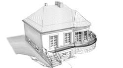 Perspective 3D extérieure - EDL