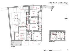 Plan 1er Etage - EDL