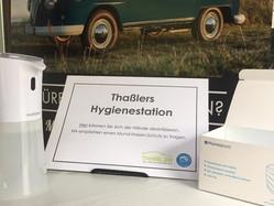 Thaßlers Hygienestation & die Vorteile der Ozonbehandlung in der Krise!