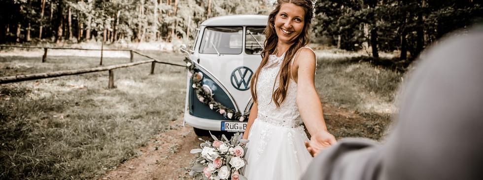 Hochzeit Vintage Bulli T1 Hochzeitsauto