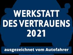 """Thaßler Kfz-Service ist """"Werkstatt des Vertrauens 2021""""!"""