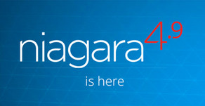 Niagara 4.9 is now released!