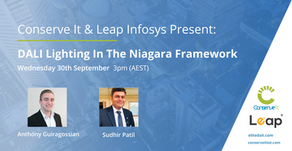 Conserve It & Leap Infosys Present: DALI Lighting In The Niagara Framework