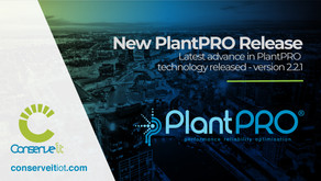 Conserve It releases latest advance in PlantPRO technology, version 2.2.1