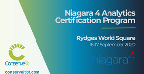 Final Call - Niagara 4 Analytics Certification Program (Sydney)