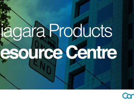 Announcing new Resource Centre for Niagara product information