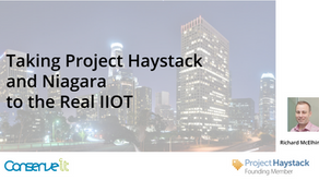 Taking Project Haystack and Niagara to the Real IIoT