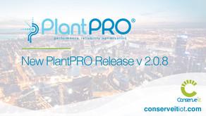 New PlantPRO Release v 2.0.8