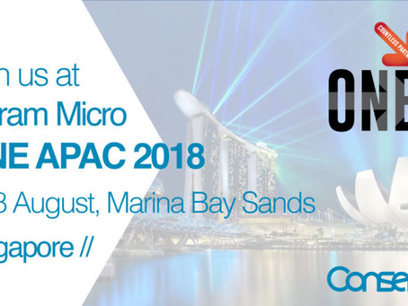 Conserve It to showcase PlantPRO at exclusive Ingram Micro ONE APAC 2018