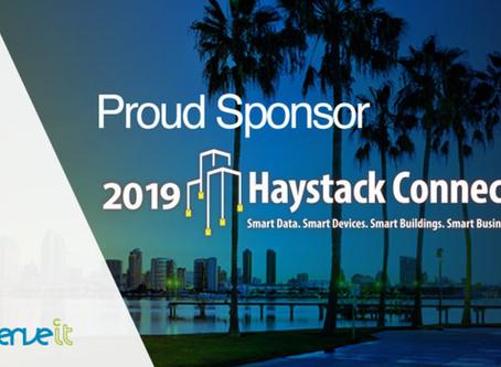 Conserve It named Platinum Sponsor for Haystack Connect 2019