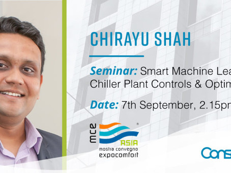 Conserve It's Chirayu Shah to present at MCE Asia 2018