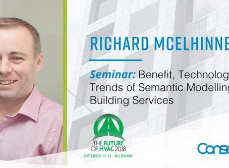 Conserve It's Richard McElhinney to present at AIRAH Future of HVAC 2018