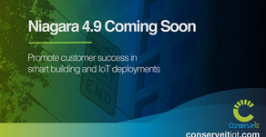 Niagara 4.9 is coming soon