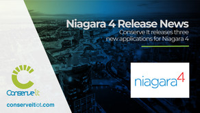 Conserve It releases three new applications for Niagara 4