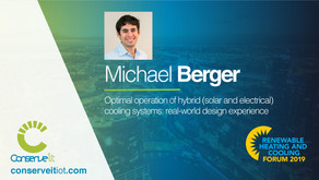 Conserve It's Michael Berger to present at AIRAH Forum