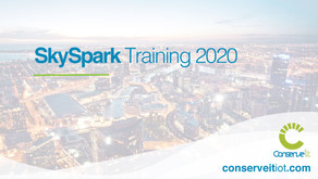 Conserve It announces SkySpark Training Classes