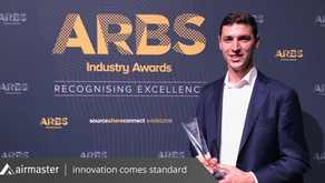 Airmaster's Jason Harrison named Young Achiever at ARBS Industry Awards