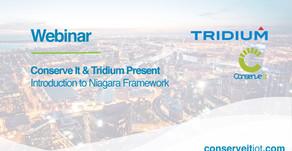 Webinar: Conserve It & Tridium Present - Introduction to Niagara Framework