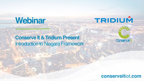 Webinar: Conserve It & Tridium Present - Introduction to Niagara Framework