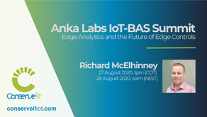 Richard McElhinney discusses Edge Analytics at Anka Labs IoT-BAS Summit