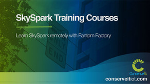 New SkySpark Training Courses by Fantom Factory