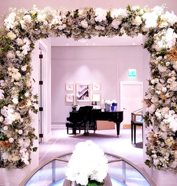 Harry Winston Event Arch
