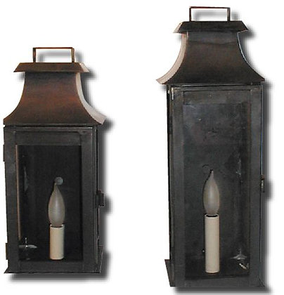 Narrow Wall Mansard Lantern