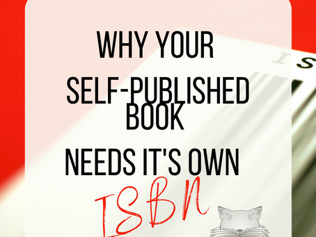 Why Your Book Needs It's Own ISBN