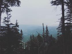 foggy mountain mood