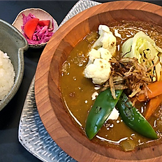 Vegetarian Soup Style Curry