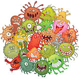 Funny-bacteria-cartoon-styles-vector-01.
