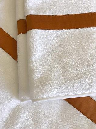 Micro/Cotton Hand Towel  |  Terracotta