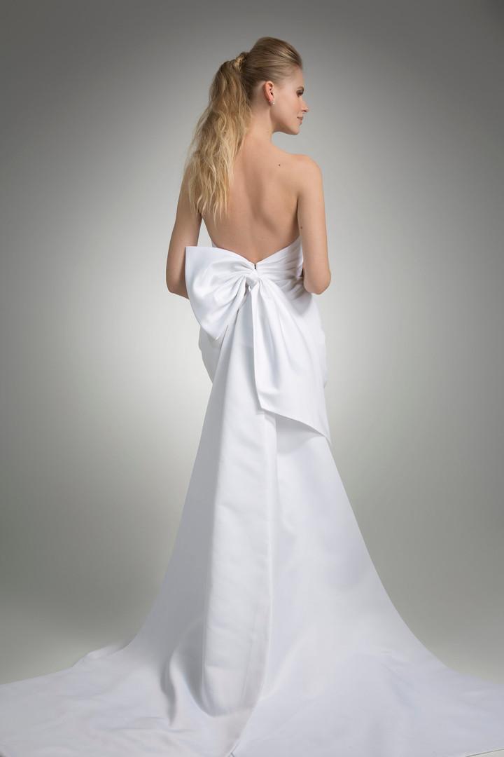 Angel Rivera Marni Bridal Gown Back Detail