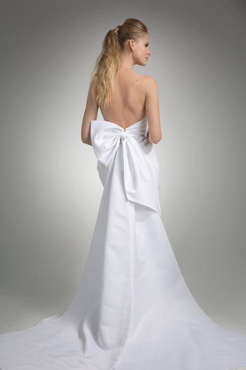 Angel Rivera Marni Bridal Gown Back Detail