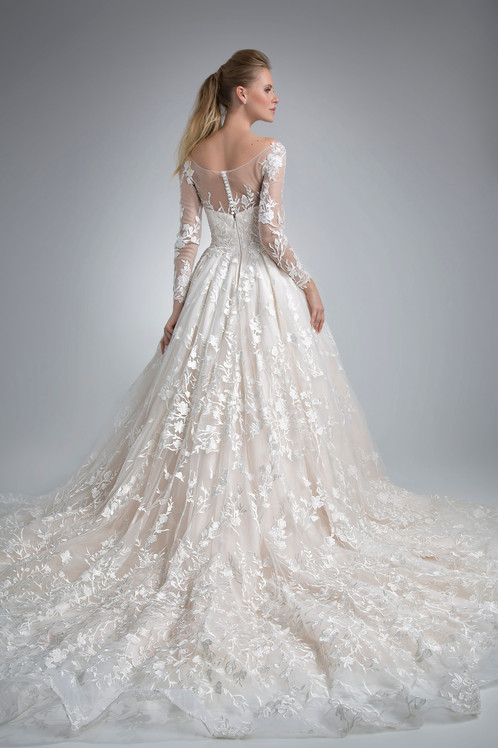 Angel Rivera Bridal Gown Cianna Back