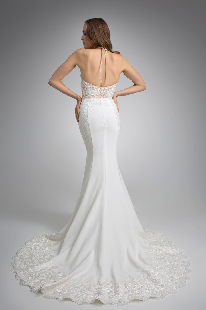 Flores Collection by Angel Rivera Bridal Gown Gia Back