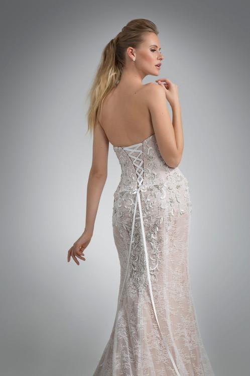 Angel Rivera Bridal Gown Orabelle Back Detail