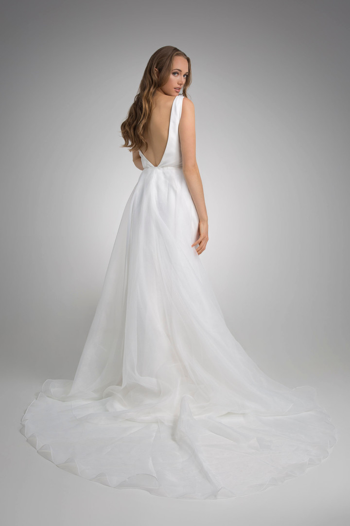 Flores Collection by Angel Rivera Bridal Gown Luna Back