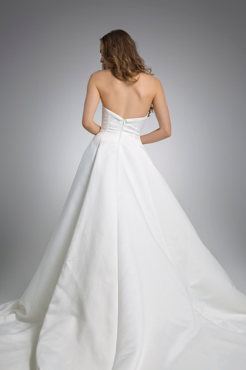 Flores Collection by Angel Rivera Bridal Gown Emily Back