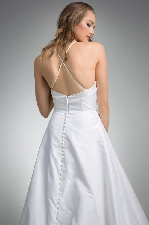 Flores Collection by Angel Rivera Bridal Gown Haven Back Detail
