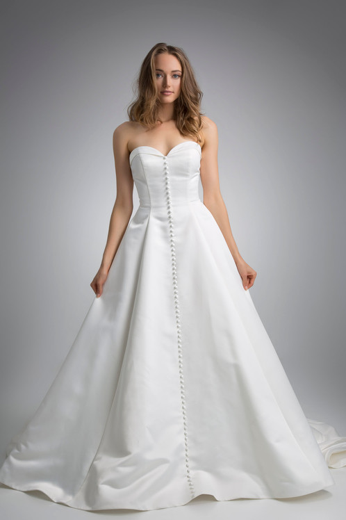 Flores Collection by Angel Rivera Bridal Gown Emily Front