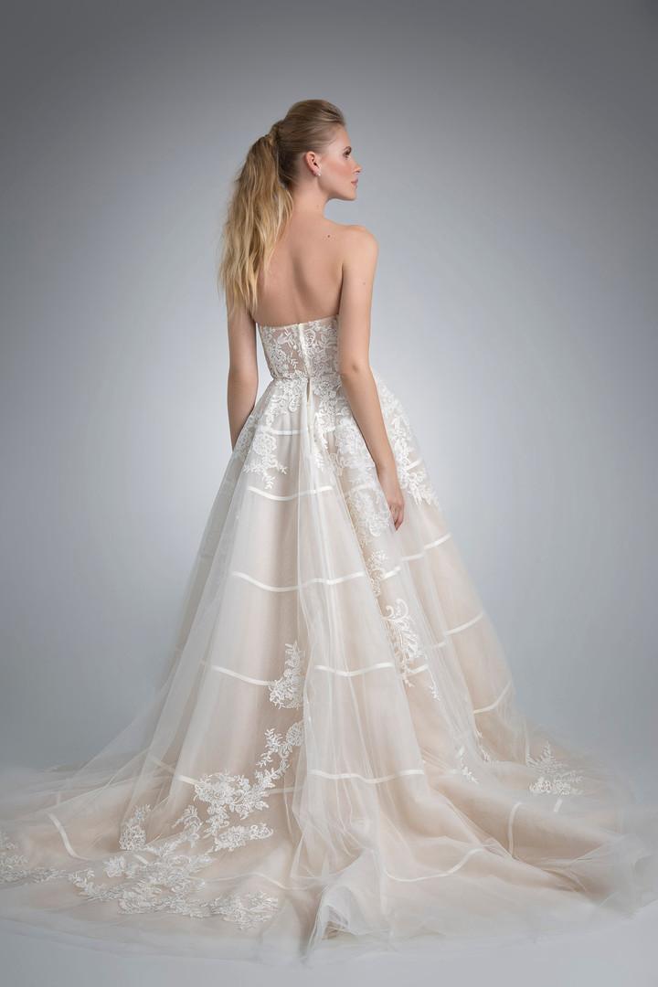 Angel Rivera Bridal Gown Kelsea Back