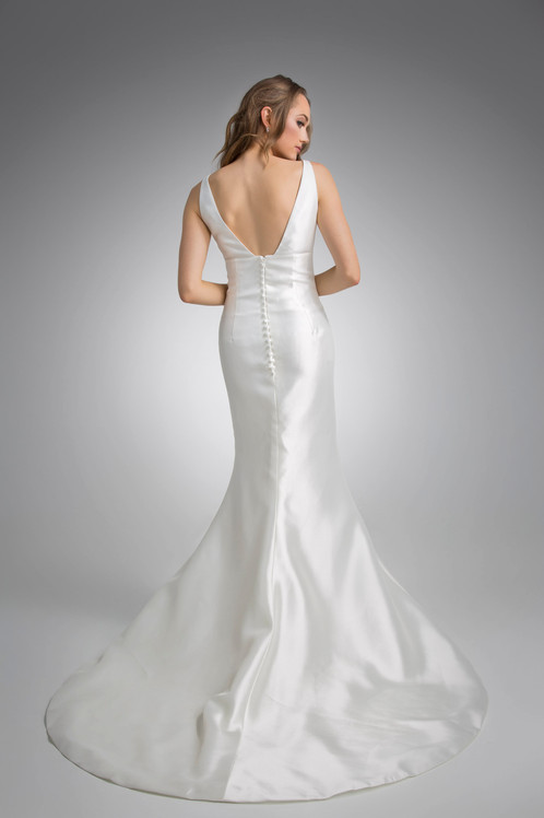 Flores Collection by Angel Rivera Bridal Gown Anne Back