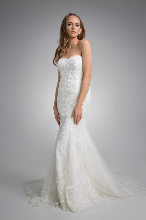 Flores Collection by Angel Rivera Bridal Gown Alisha Front