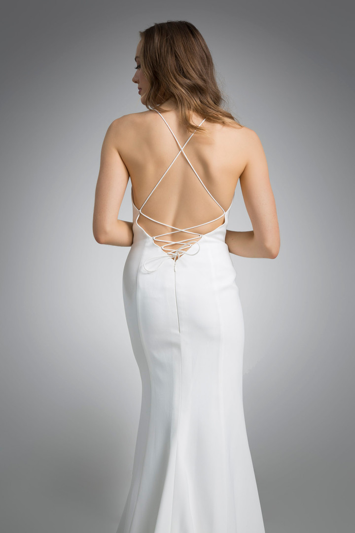 Flores Collection by Angel Rivera Bridal Gown Michelle back