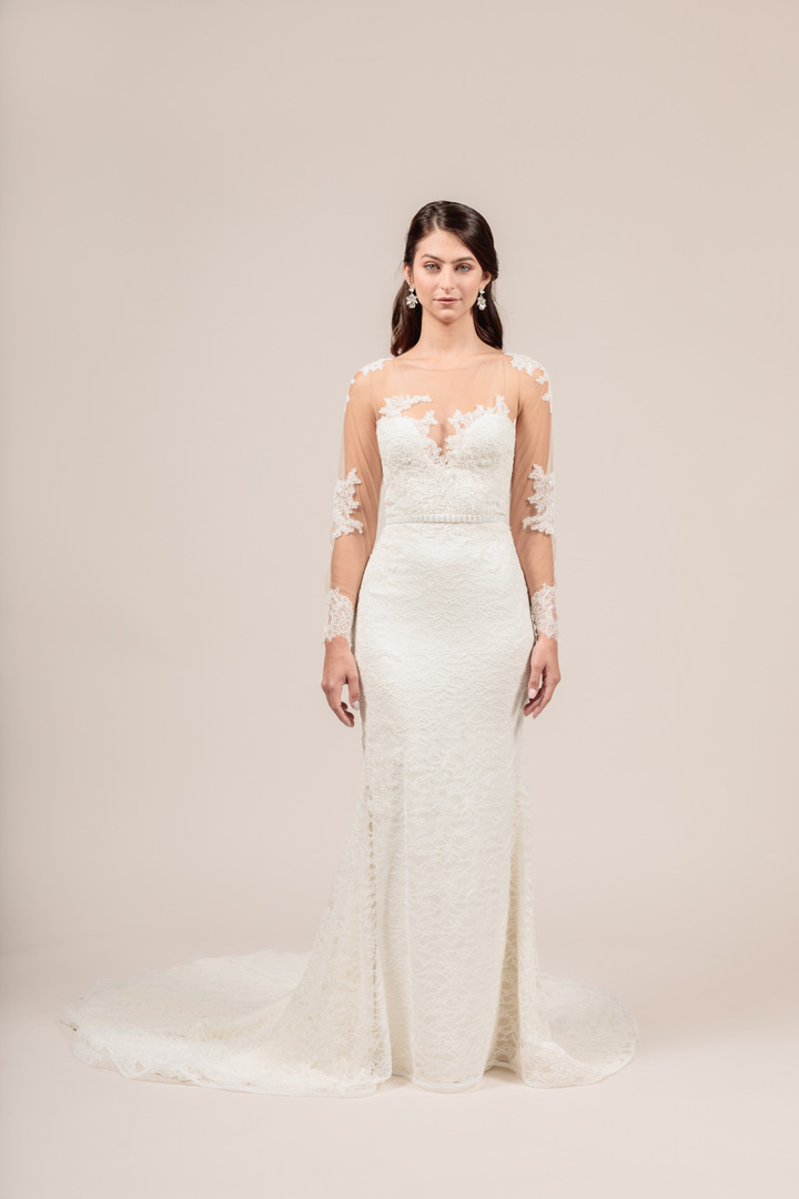 Angel Rivera Bridal Gown Perfection front detail