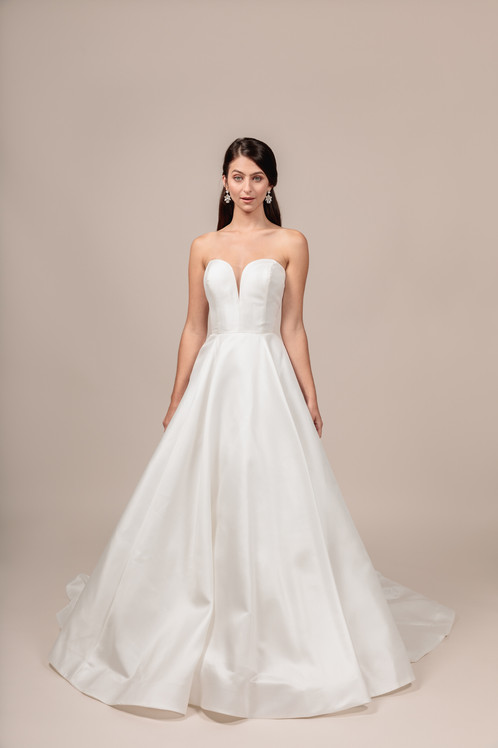 Angel Rivera bridal gown Royalty front