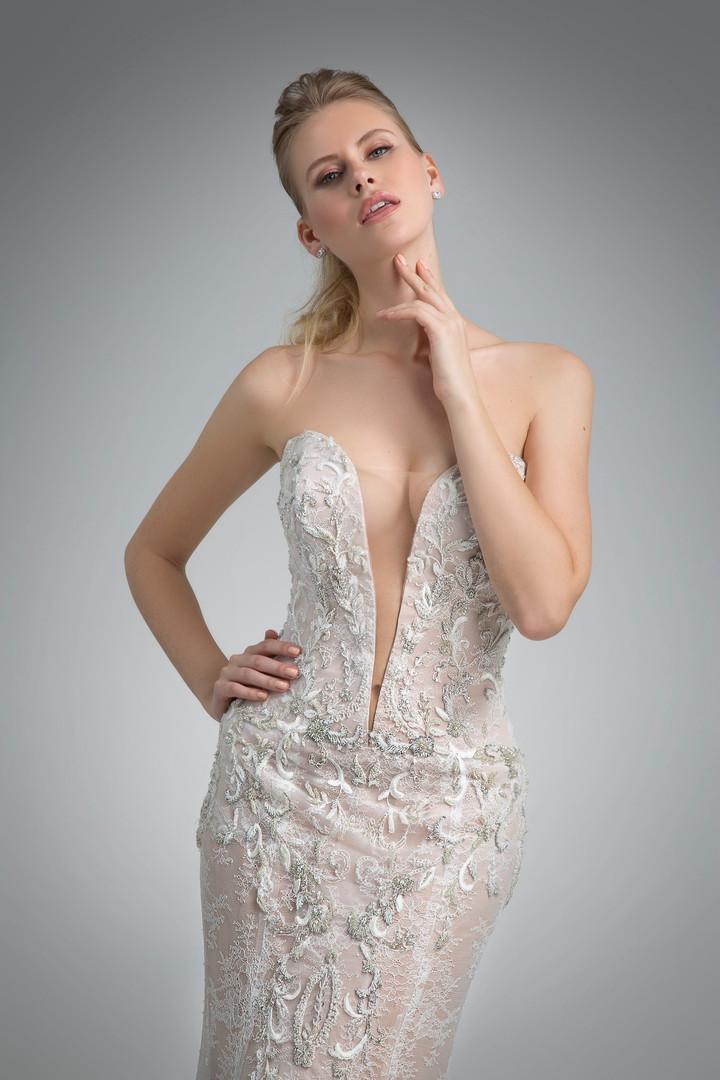 Angel Rivera Bridal Gown Orabelle Front detail